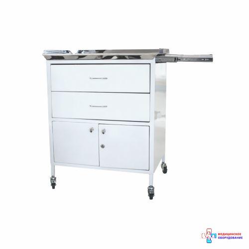 Столик анестезіолога СА-5 (стільниця з нержавіючої сталі)