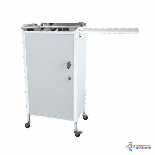 Столик анестезіолога СА-7 (стільниця з нержавіючої сталі)