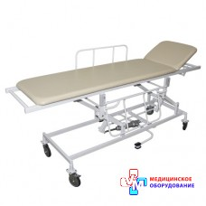 Візок медичний для перевезення пацієнтів ВМП-9 (з гідравлічним регулюванням висоти)