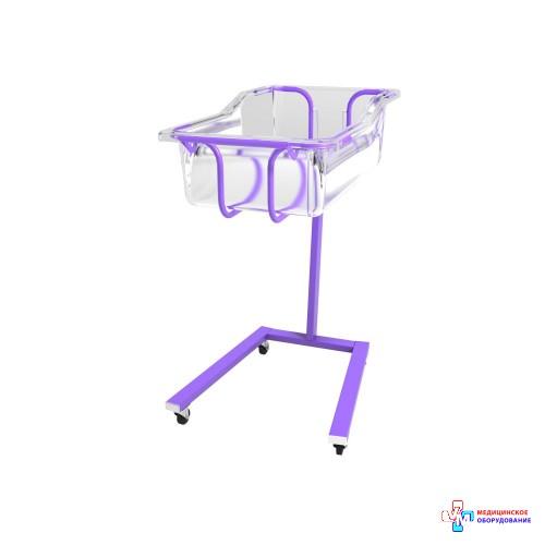 Тележка медицинская для перевозки новорожденных ВМН-2