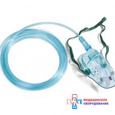 Маска киснева для дорослих з кисневою трубкою (довжина 2,5 м)
